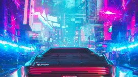 Retrowave Wallpaper For IPhone