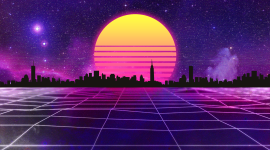 Retrowave Wallpaper Free