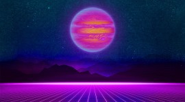 Retrowave Wallpaper High Definition