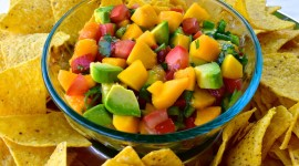 Salsa With Peaches Photo Download