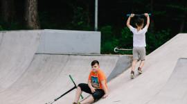 Skate Park Wallpaper Background