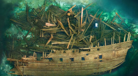 Sunken Ships Desktop Wallpaper Free