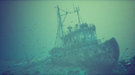 Sunken Ships Wallpaper 1080p