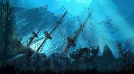 Sunken Ships Wallpaper Download