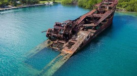 Sunken Ships Wallpaper For IPhone Free