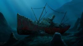 Sunken Ships Wallpaper Full HD