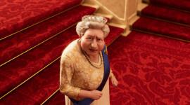 The Queen's Corgi Desktop Wallpaper For PC