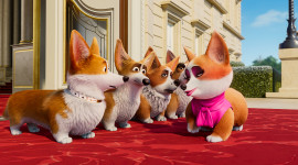 The Queen's Corgi Photo Free