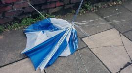 Umbrella Is Broken Photo Download