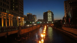 Waterfire Wallpaper Download Free