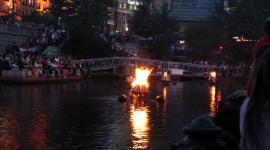 Waterfire Wallpaper For Desktop