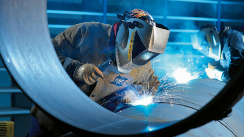 Welding wallpapers high quality