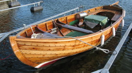 Wooden Boats Desktop Wallpaper HD