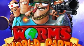 Worms World Party Wallpaper For IPhone