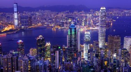 4K Megapolis Lights Photo Download