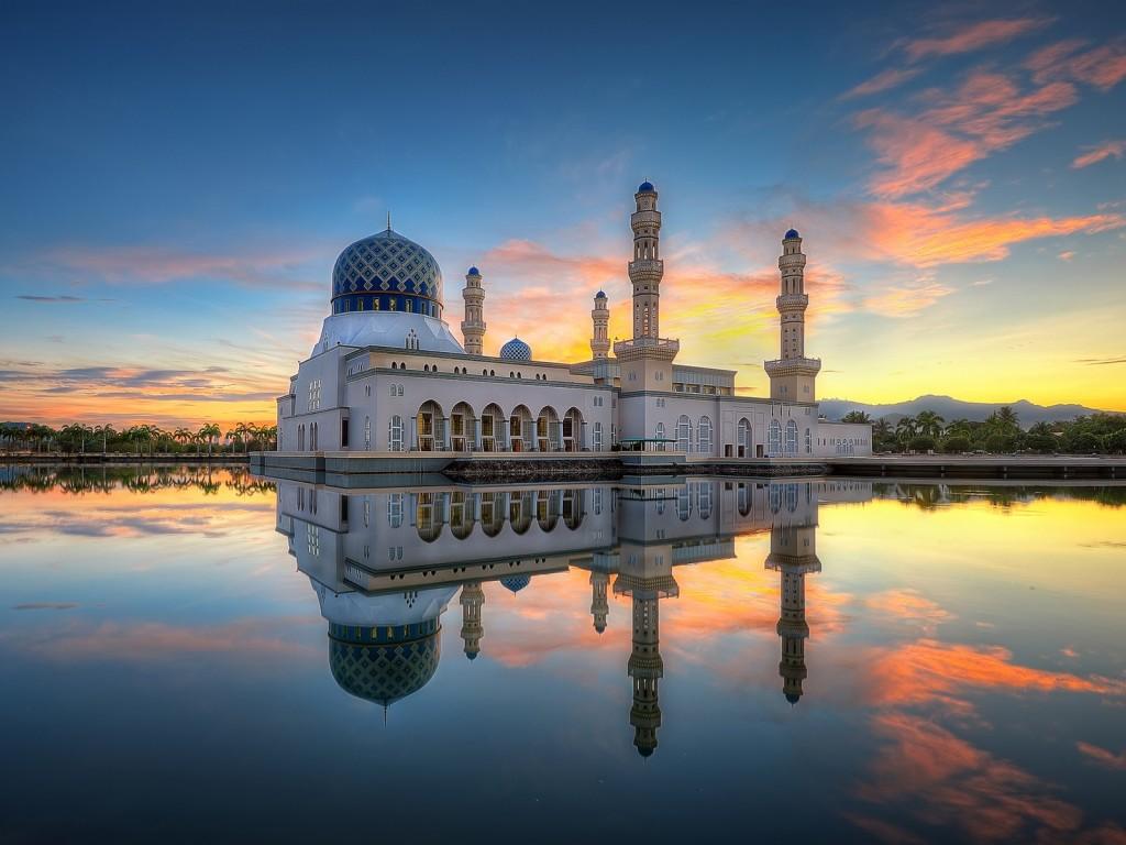 4K Mosque Evening wallpapers HD