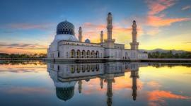 4K Mosque Evening Best Wallpaper