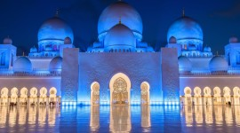 4K Mosque Evening Photo Download