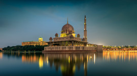 4K Mosque Evening Picture Download