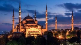 4K Mosque Evening Wallpaper 1080p