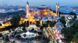 4K Mosque Evening Wallpaper
