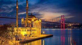 4K Mosque Evening Wallpaper Download