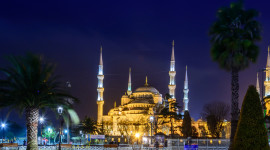 4K Mosque Evening Wallpaper For Android