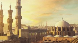 4K Mosque Evening Wallpaper For Mobile