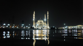 4K Mosque Evening Wallpaper For PC