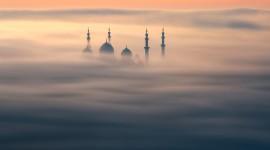4K Mosque Evening Wallpaper Free