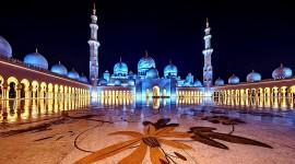 4K Mosque Evening Wallpaper Full HD