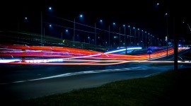 4K Street Evening Photo