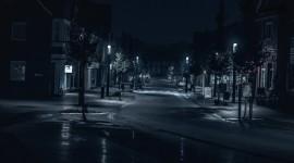 4K Street Evening Photo Free#1