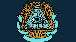 All-Seeing Eye Wallpaper Background
