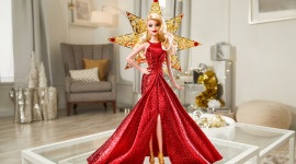Barbie Holiday Photo