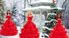 Barbie Holiday Wallpaper For PC