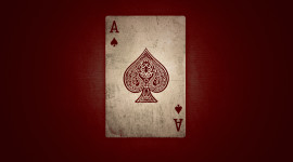Card Ace Wallpaper Background