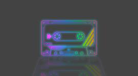 Cassette Desktop Wallpaper