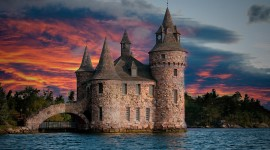 Castle Lake Wallpaper 1080p