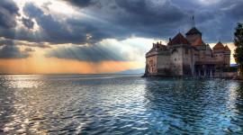 Castle Lake Wallpaper