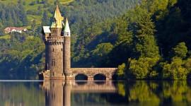 Castle Lake Wallpaper For Desktop