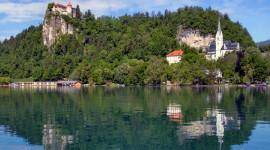 Castle Lake Wallpaper Free
