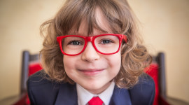 Children Glasses Aircraft Picture
