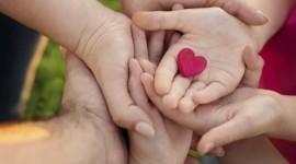 Children Hand Hearts Photo