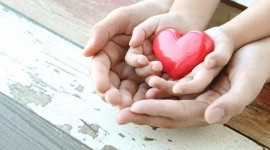 Children Hand Hearts Picture Download