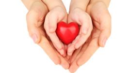 Children Hand Hearts Wallpaper Free