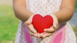 Children Hand Hearts Wallpaper Gallery
