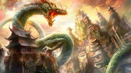 Chinese Dragon Desktop Wallpaper Free