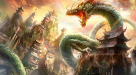 Chinese Dragon Desktop Wallpaper HD