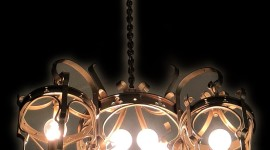Church Chandelier Wallpaper For IPhone#1